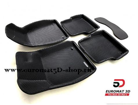 3D Коврики Euromat3D EVA В Салон Для AUDI A6 (2004-2010) № EM3DEVA-001109