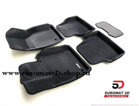 3D Коврики Euromat3D EVA В Салон Для AUDI Q3 (2012-) № EM3DEVA-001113