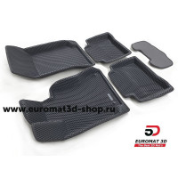 3D Коврики Euromat3D EVA В Салон Для MERCEDES W218 (CLS-Class) (2011-) № EM3DEVA-003505