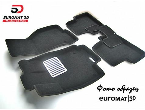 Текстильные 3D коврики Euromat в салон для ACURA RDX (2014-) № EM3D-000004