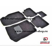 Текстильные 3D коврики Euromat3D Business в салон для NISSAN X-Trail T32 (2015-) № EMC3D-003724